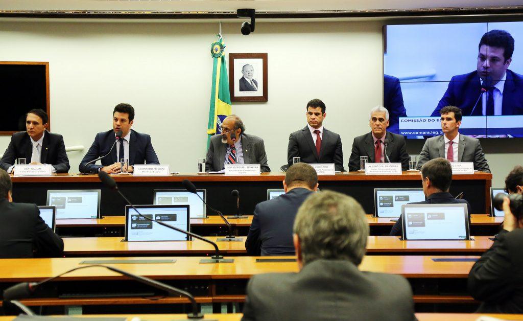 Ministro Leonardo Picciani participa de audiência pública sobre resultados do esporte paralímpico na Comissão do Esporte da Câmara dos Deputados. Foto: Francisco Medeiros