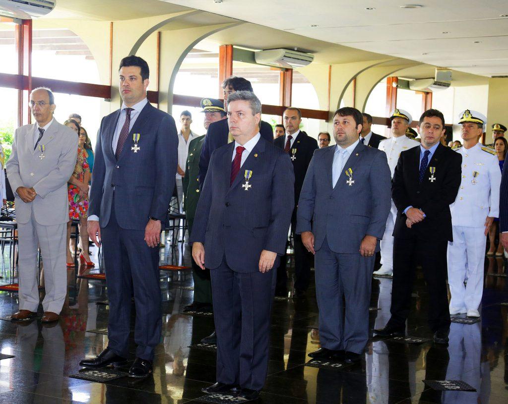 Ministro Leonardo Picciani recebe Medalha do Mérito Desportivo Militar. Foto: Francisco Medeiros