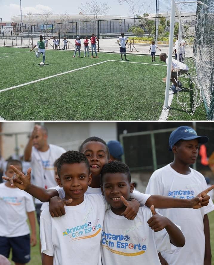 Convênios do projeto Brincando com Esporte já beneficiam quase 40 mil crianças e adolescentes em todo o país. Foto: Ramon Moreira/ME