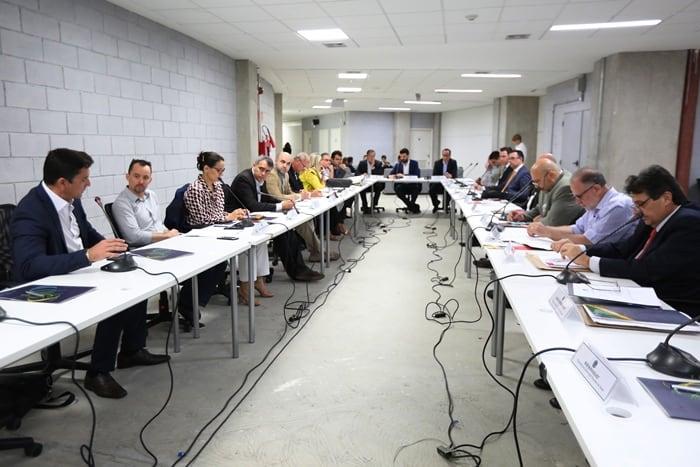 40ª reunião do CNE, realizada no Velódromo, no Parque Olímpico da Barra. Foto: Francisco Medeiros/ME