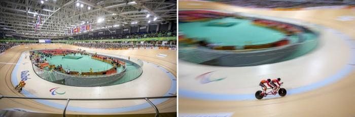 Velódromo do Parque Olímpico da Barra. Fotos: Danilo Borges/ME