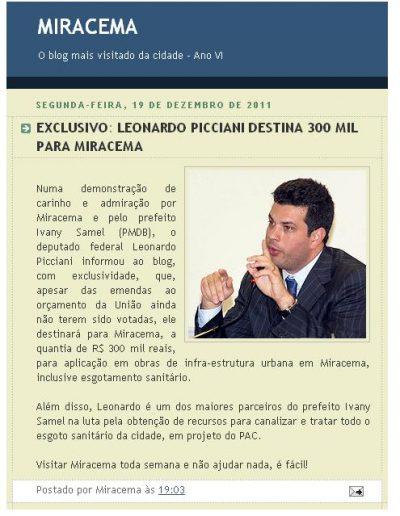 2011.12.19 Blog Miracema