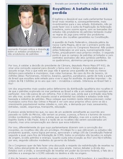 artgo Leo 2011.12.12 O São Gonçalo