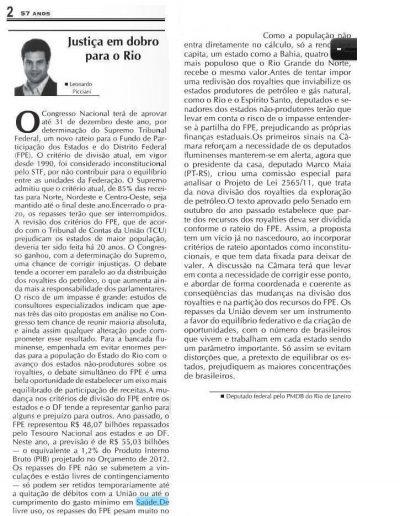 artigo Leo 2012.02.18 - Diário de Petrópolis