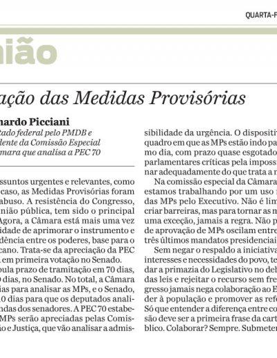 artigo leo MPs Jornal O Dia