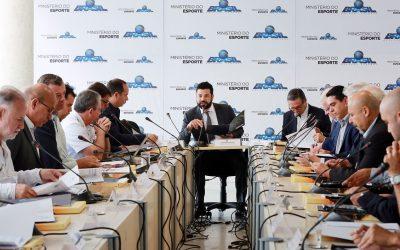 Conselho Nacional do Esporte aprova relatório de aplicação de recursos do COB entre 2013 e 2016