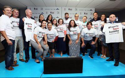 Programa Esporte Sem Assédio combate violência e assédio a atletas brasileiras