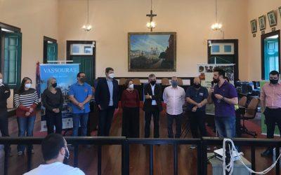 Leonardo Picciani participa da inauguração do Novo Centro de Turismo de Vassouras