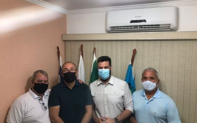 """""""Queimados sabe que pode contar comigo"""", diz Leonardo Picciani em visita à Baixada"""